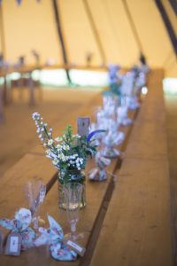 Dewslake Farm Festival Wedding Banquet