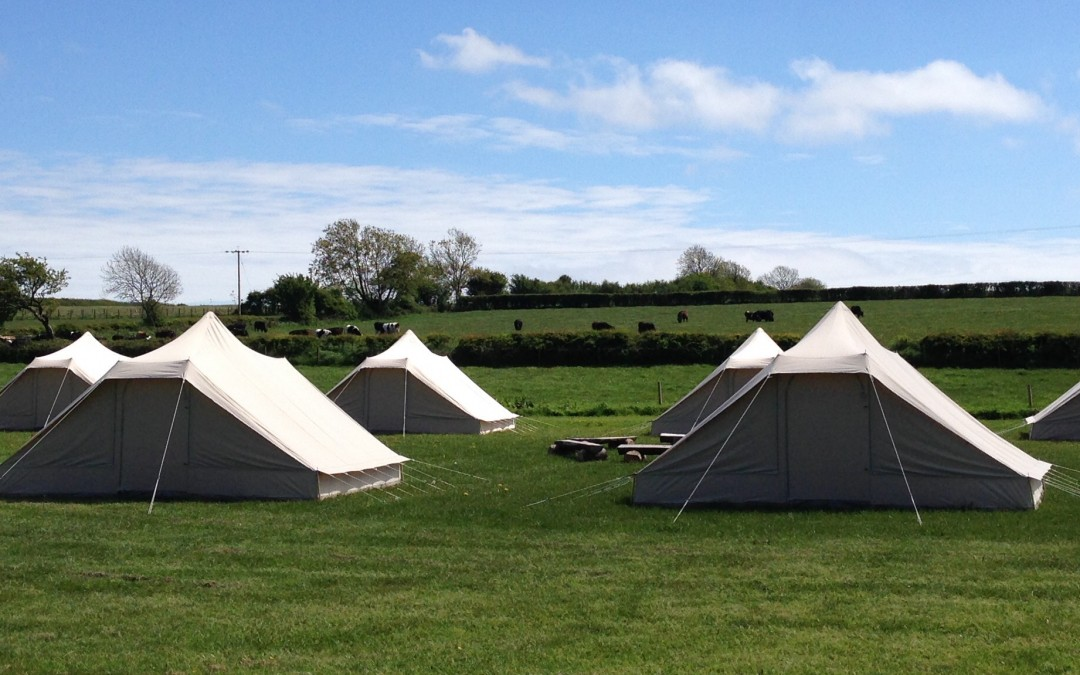 Bell Tent Birthday Party