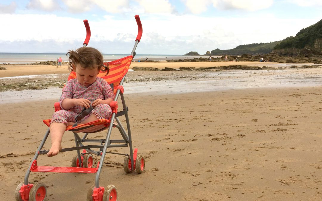 Pembrokeshire with a Pram – Beaches